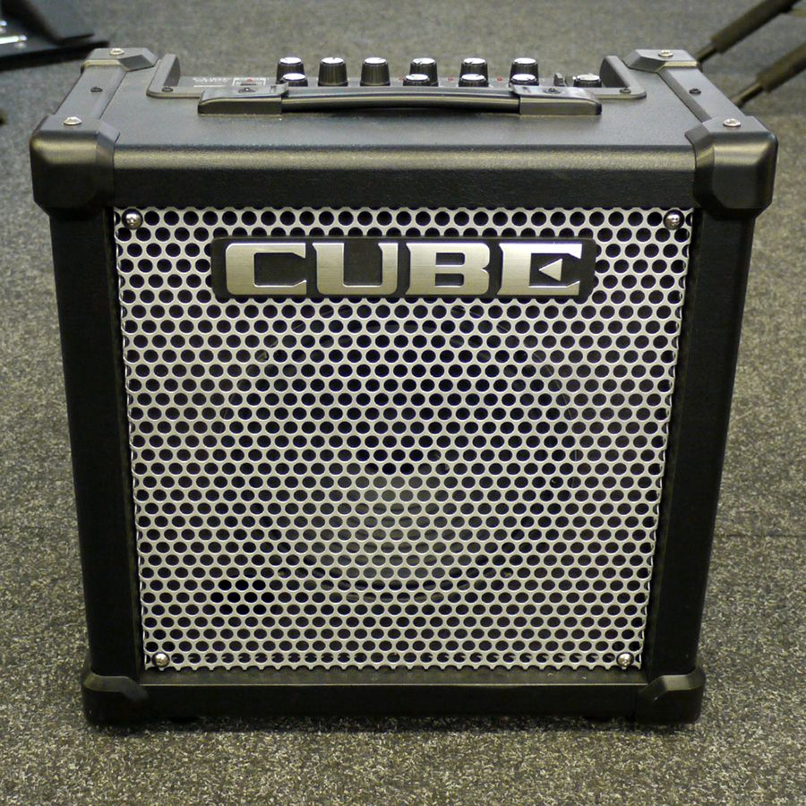 roland cube 20gx guitar amplifier 2nd hand rich tone music. Black Bedroom Furniture Sets. Home Design Ideas