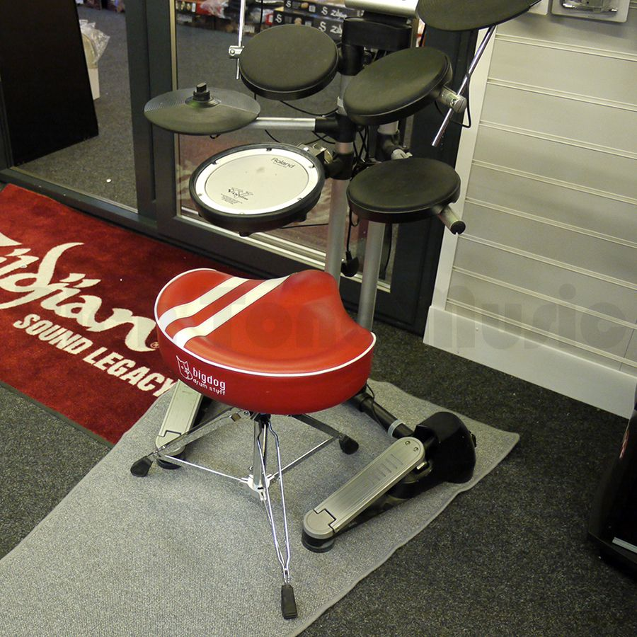 Roland hd 1 v drums lite kit w red bigdog drum stool 2nd hand rich tone music - Roland hd3 v drum lite set ...