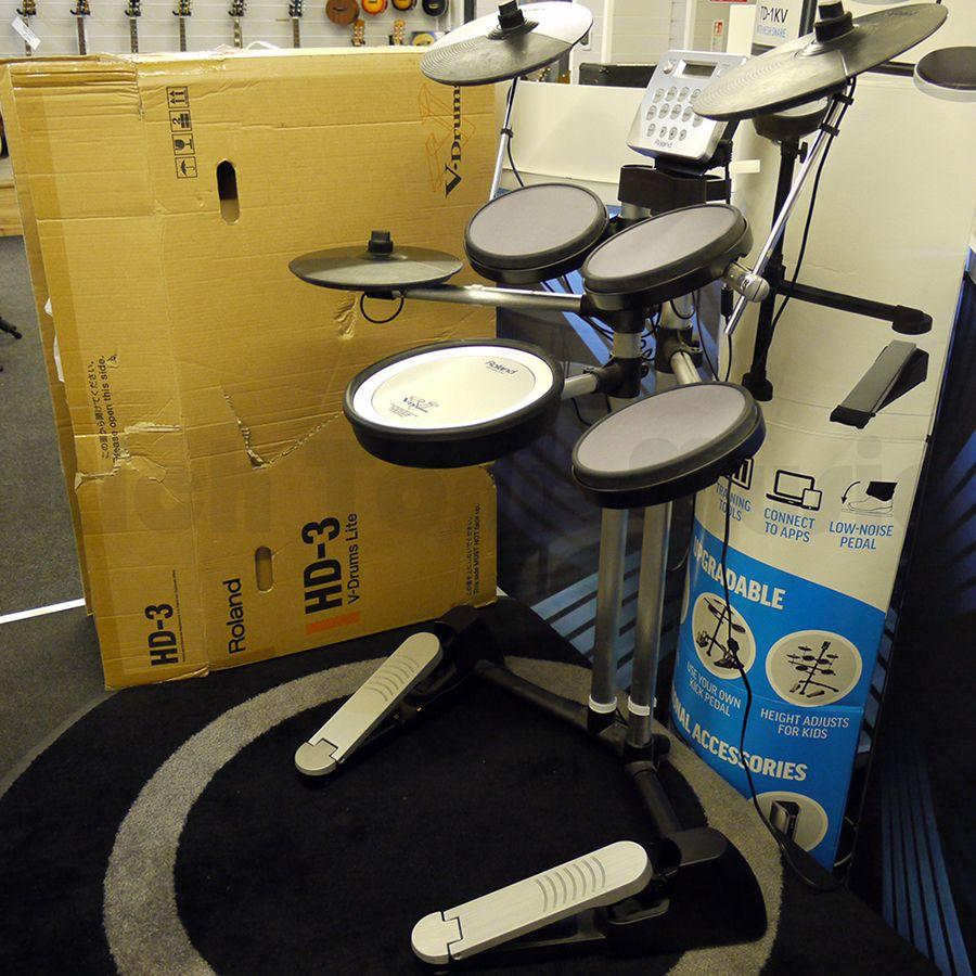 roland v drums lite hd 3 w box 2nd hand rich tone music. Black Bedroom Furniture Sets. Home Design Ideas