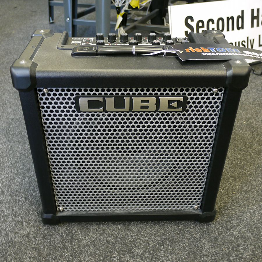 roland cube 40gx guitar amplifier 2nd hand rich tone music. Black Bedroom Furniture Sets. Home Design Ideas