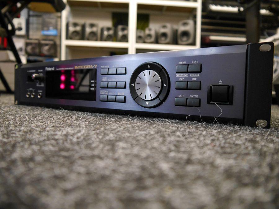 Roland INTEGRA-7 SuperNATURAL Sound Module - 2nd Hand
