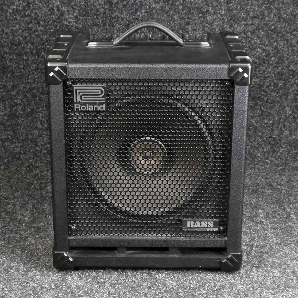 roland cube 100 bass combo amp 2nd hand rich tone music. Black Bedroom Furniture Sets. Home Design Ideas