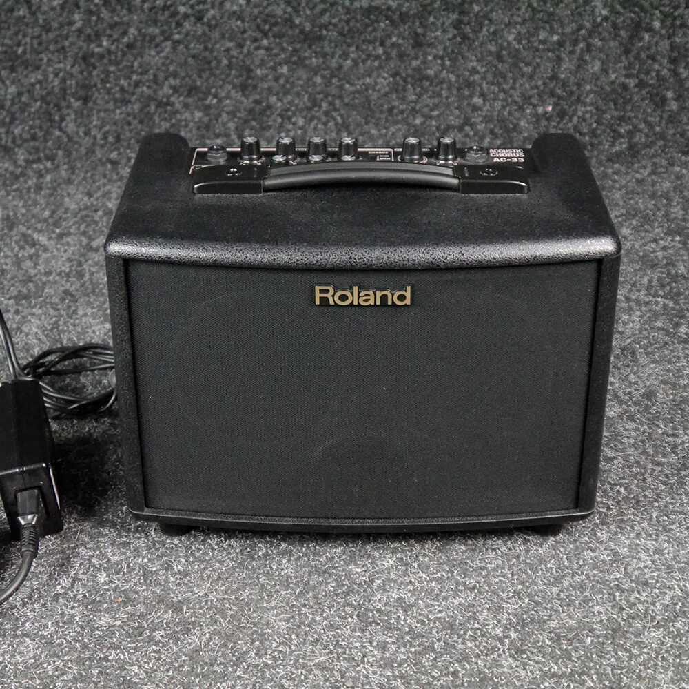 roland ac 33 acoustic chorus combo amp 2nd hand rich tone music. Black Bedroom Furniture Sets. Home Design Ideas