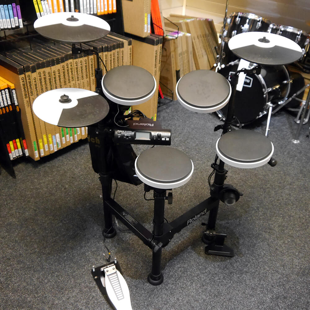 roland td 4kp compact v drums electronic drum kit 2nd hand rich tone music. Black Bedroom Furniture Sets. Home Design Ideas