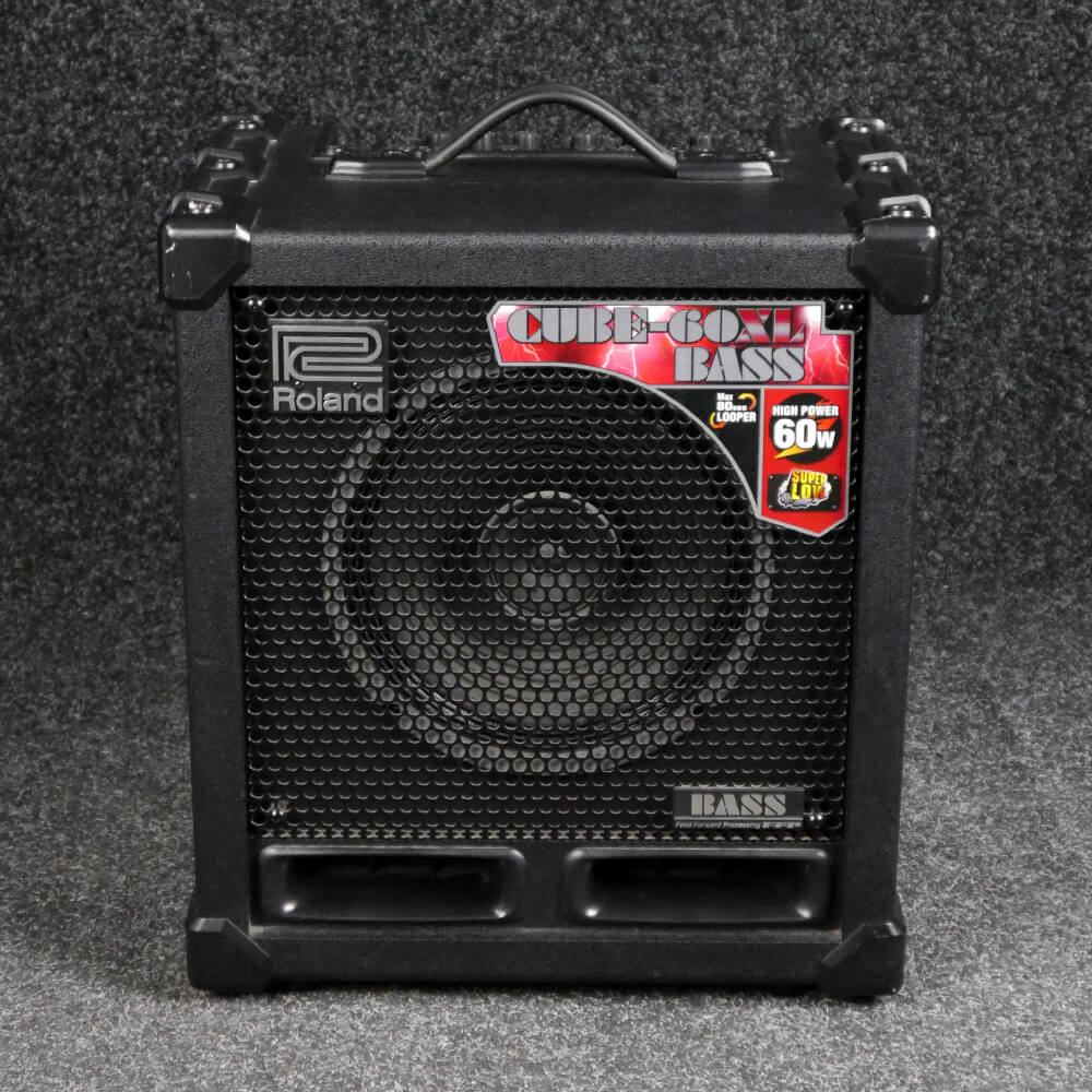 roland cube 60xl bass combo amp 2nd hand rich tone music. Black Bedroom Furniture Sets. Home Design Ideas