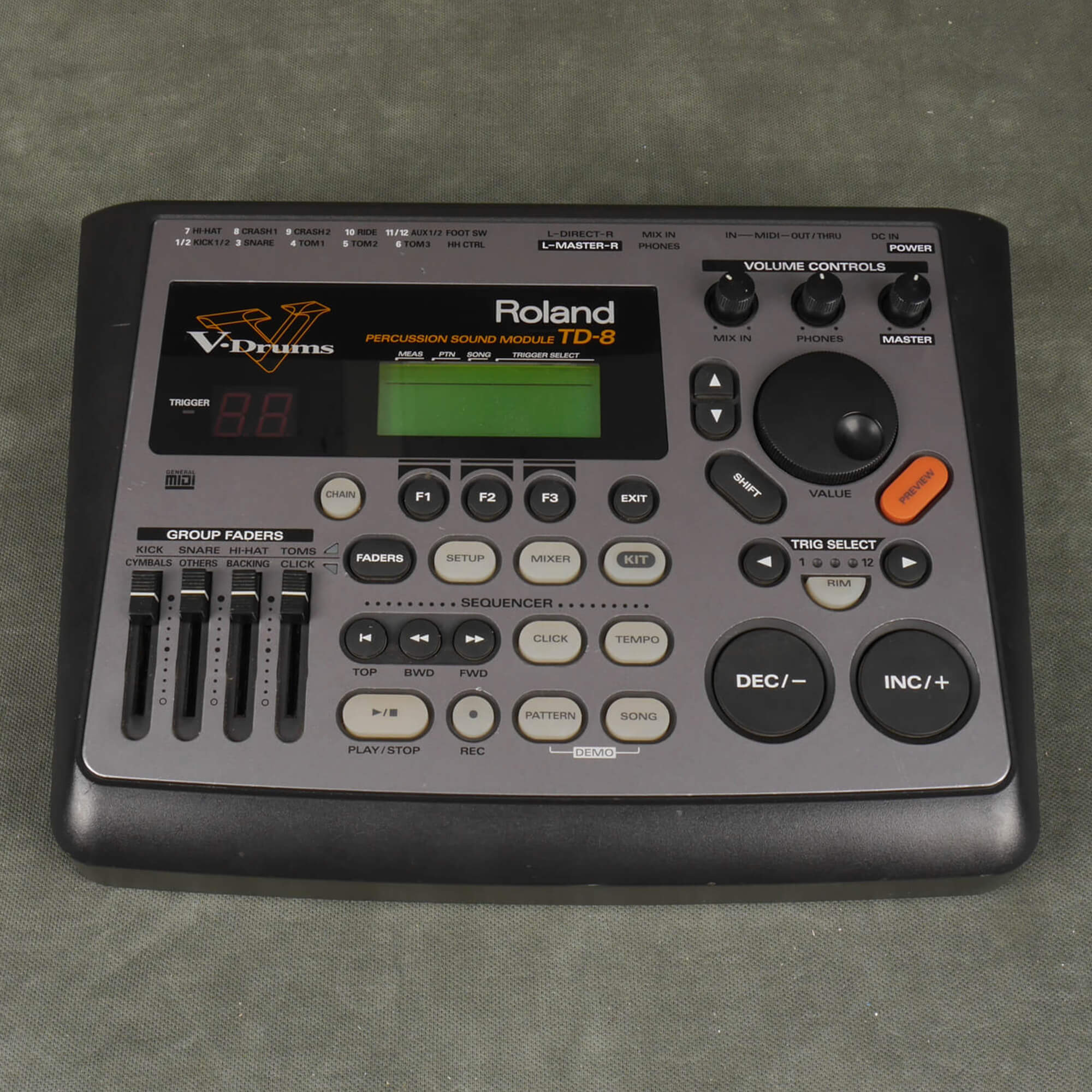 Roland TD-8 Percussion Module - 2nd Hand
