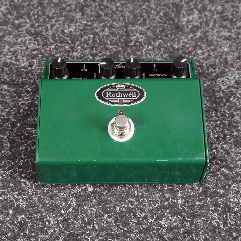 Rothwell Heartbreaker Overdrive FX Pedal - 2nd Hand
