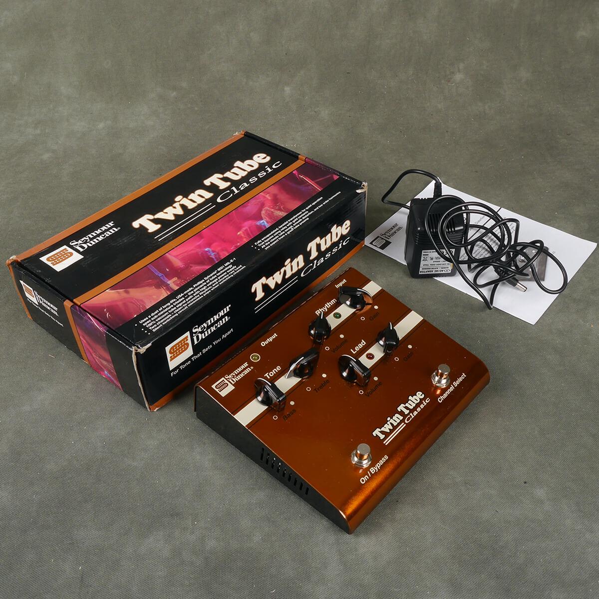 Seymour Duncan Twin Tube Classic Pre-amp FX Pedal w/Box & PSU - 2nd Hand