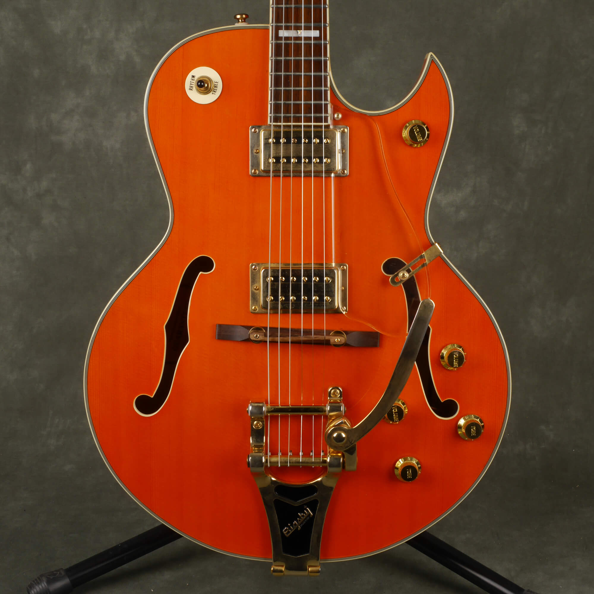 Shine Semi Acoustic Guitar - Orange - 2nd Hand