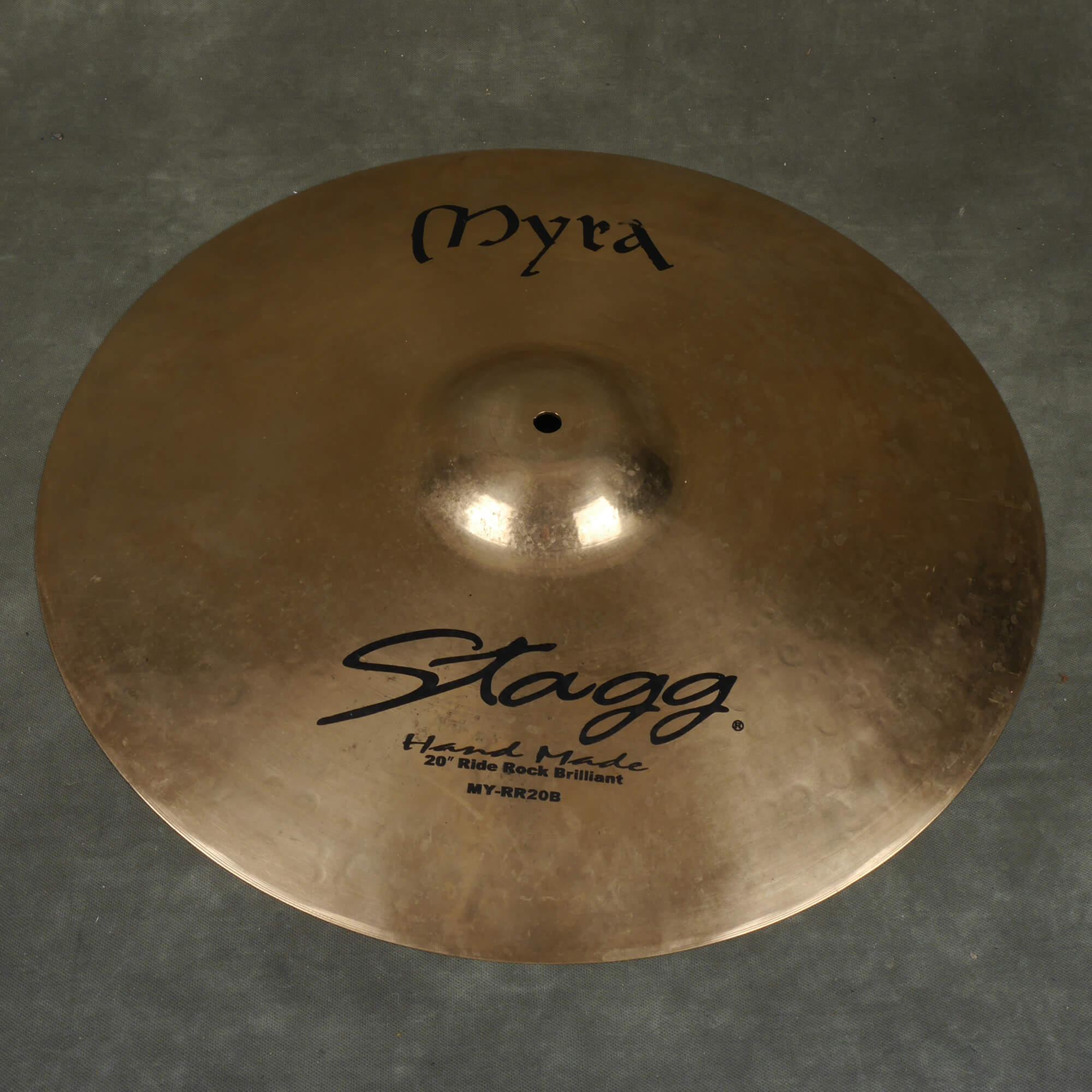 Stagg Myra 20″ Ride Cymbal - 2nd Hand