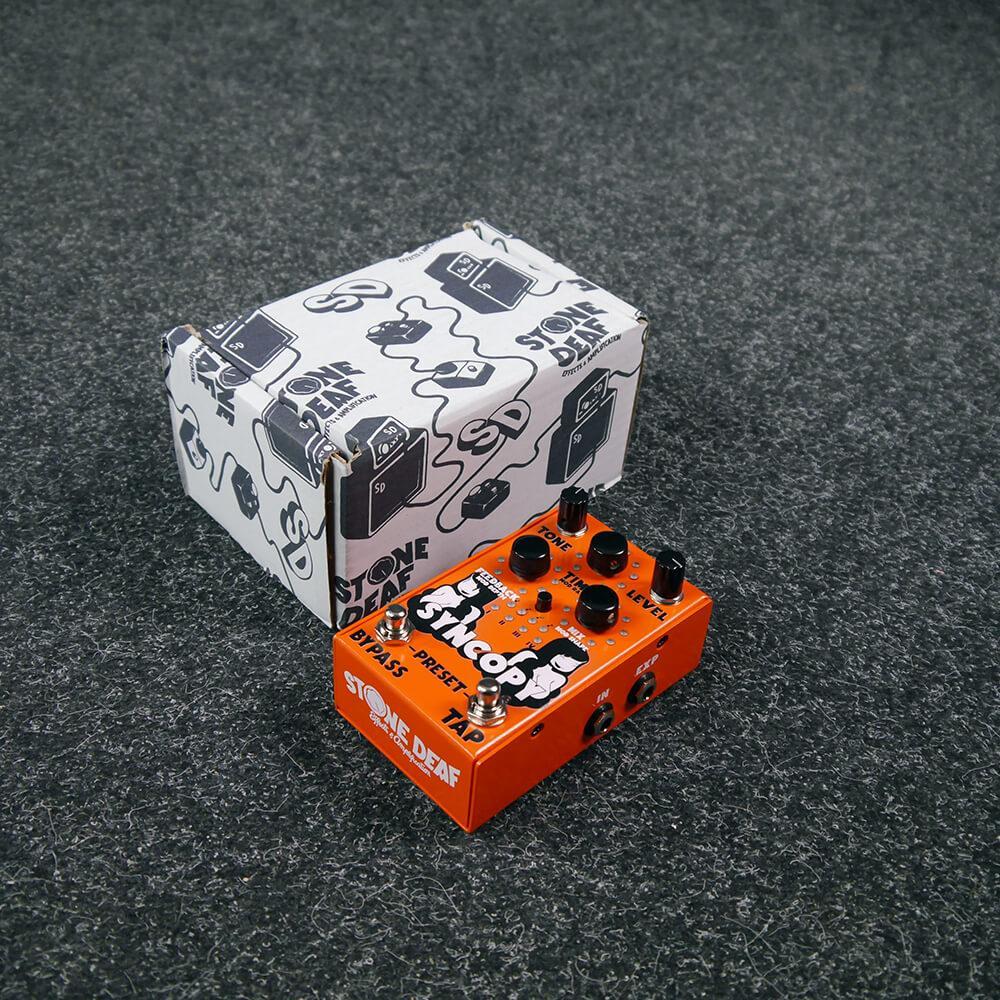 Stone Deaf Syncopy Analog Delay Pedal FX Pedal - 2nd Hand