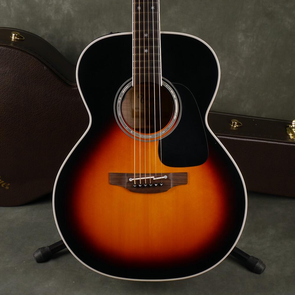 Takamine P6N Acoustic Guitar - Sunburst w/Hard Case - 2nd Hand