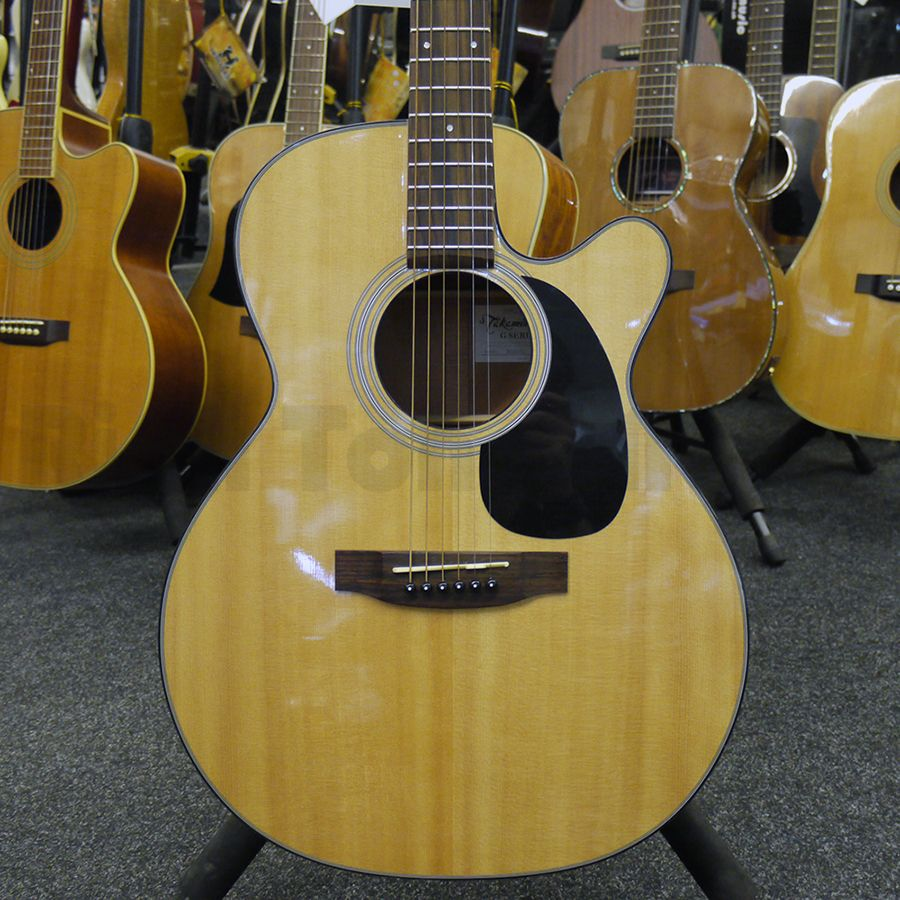 takamine eg220c acoustic guitar w hard case 2nd hand rich tone music. Black Bedroom Furniture Sets. Home Design Ideas