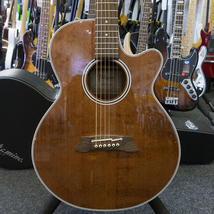 Takamine EF261S-AN Electro-Acoustic w/ Case - 2nd Hand