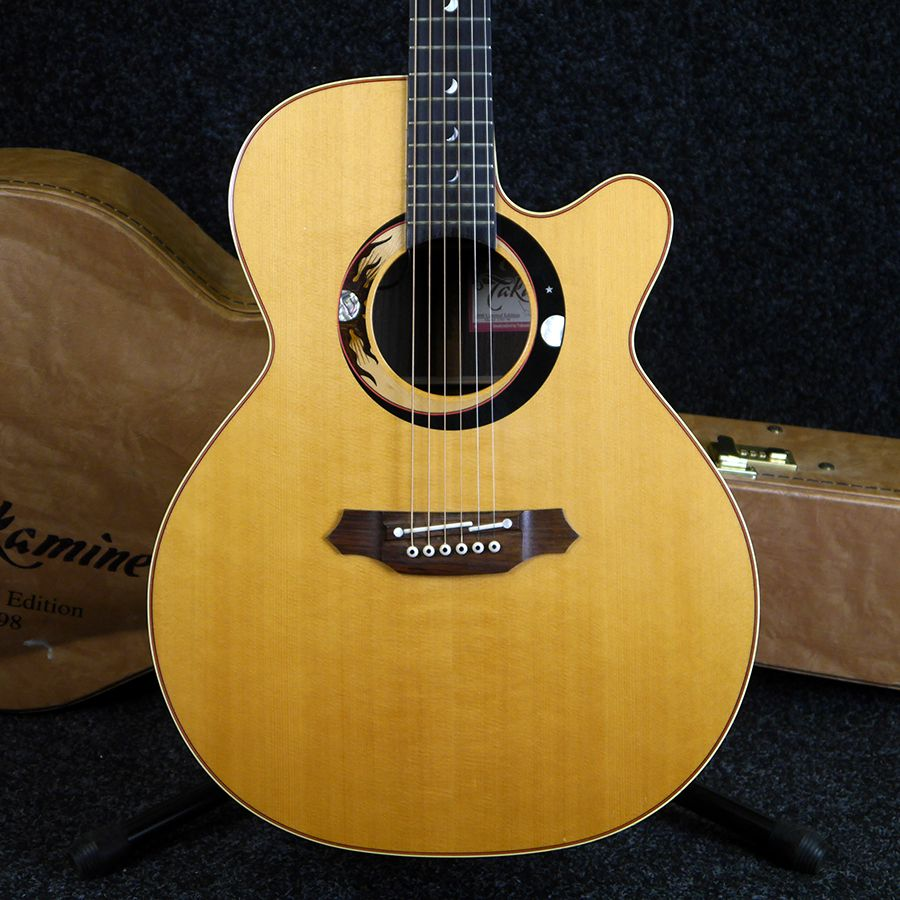 Takamine 1998 Ltd. Ed. Acoustic Guitar w/ Hard Case - 2nd Hand