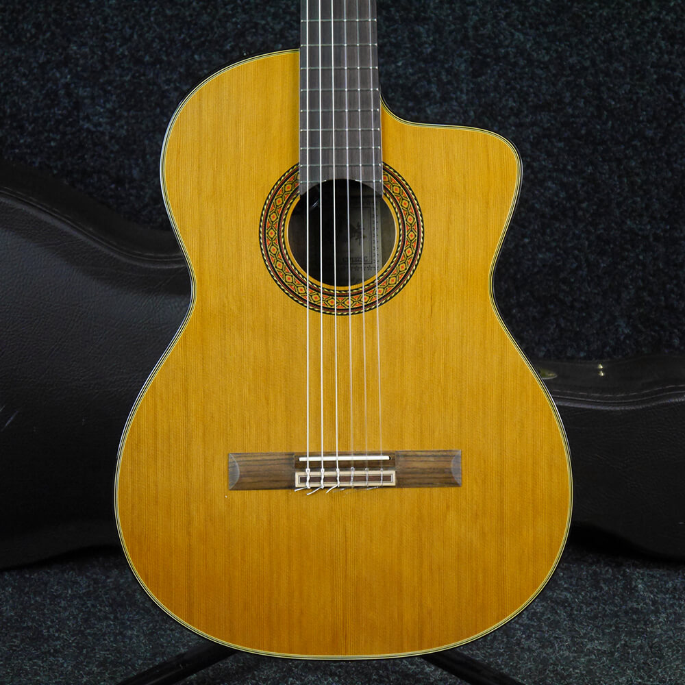 Takamine CP-132 SC Japan '88 - Natural w/Hard Case - 2nd Hand