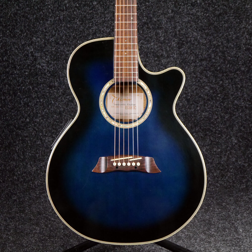 Takamine G Series EG520C Electro-Acoustic Guitar - Blue - 2nd Hand