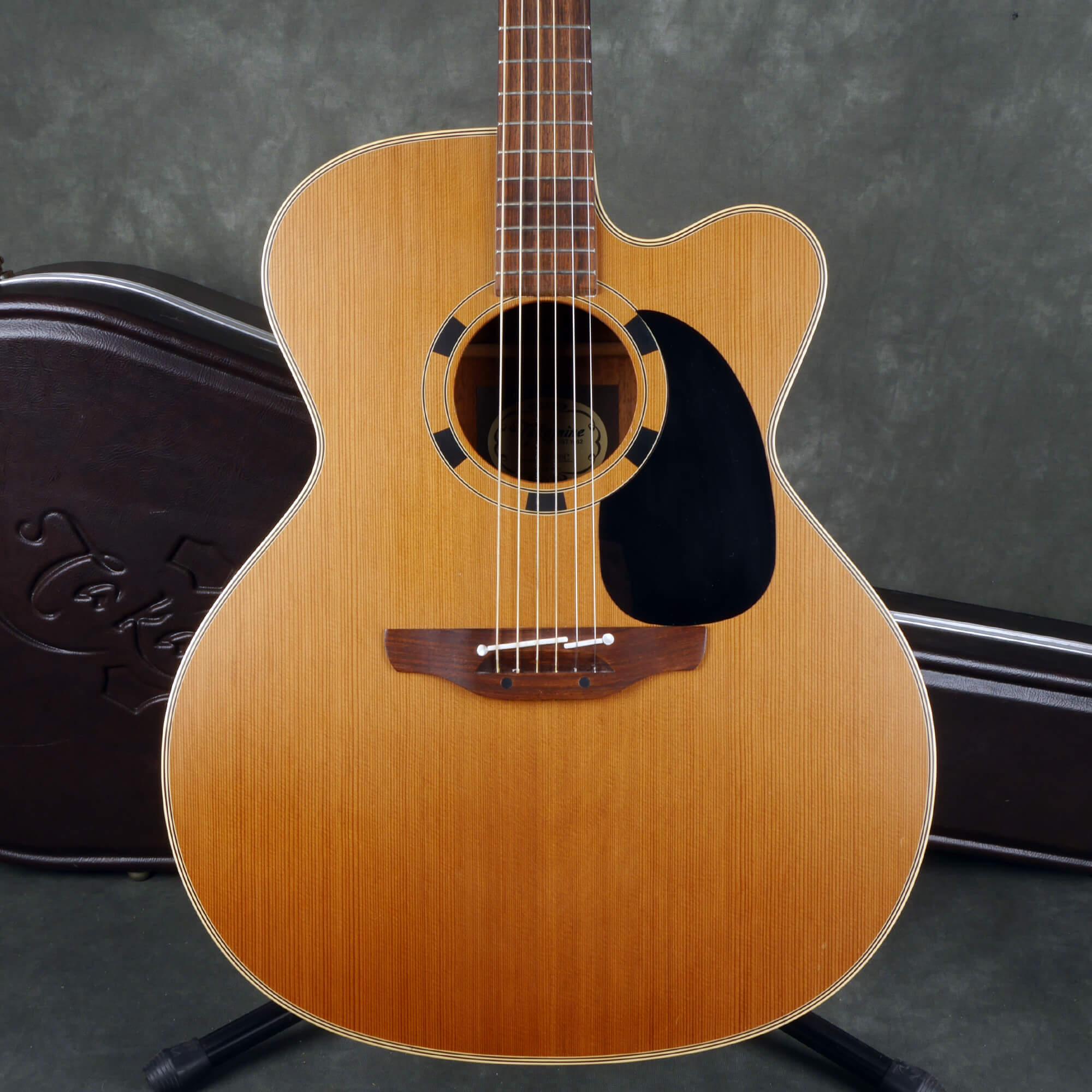 Takamine EM20C MIJ Acoustic Guitar - Natural w/Hard Case - 2nd Hand