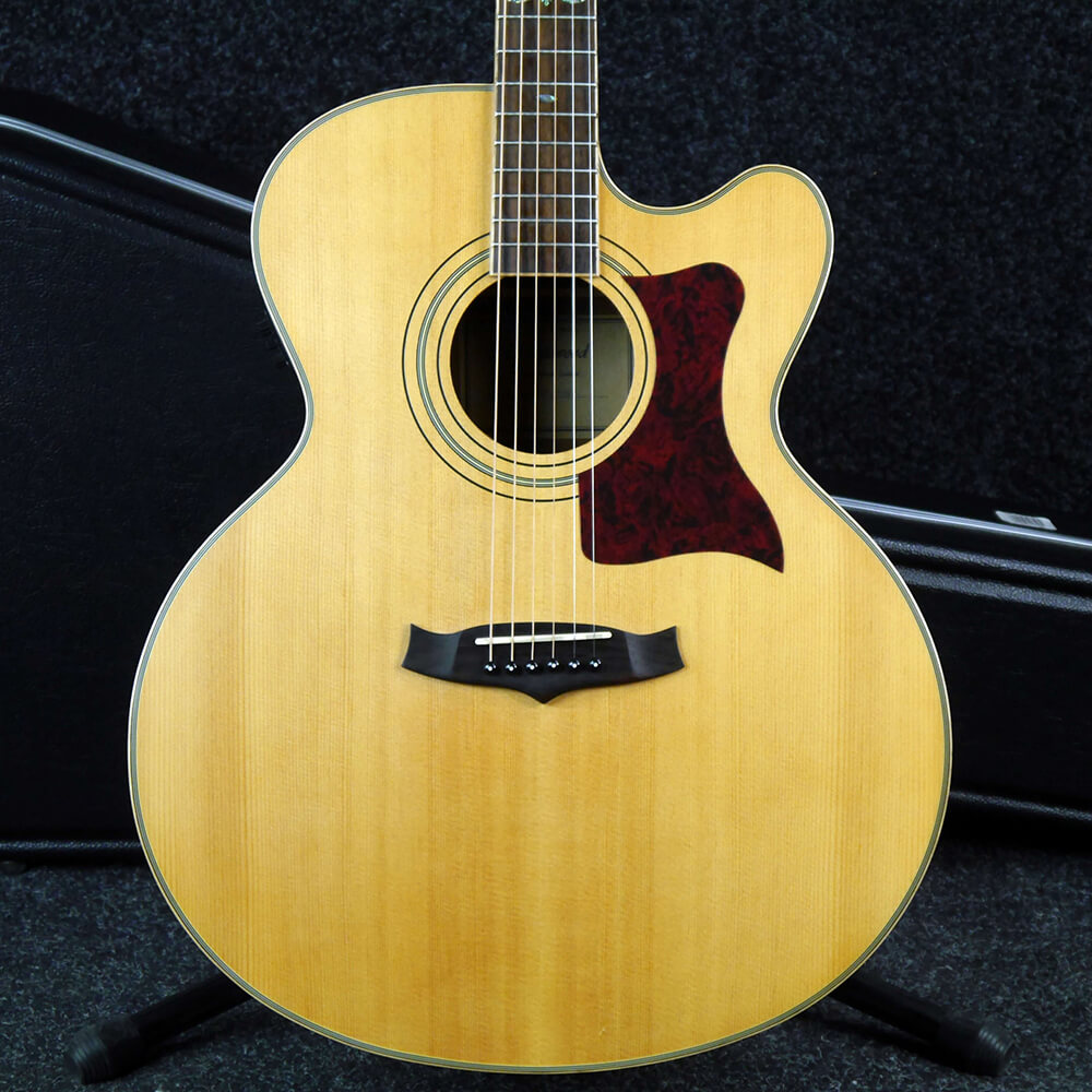 Tanglewood TW155 ST Electro-Acoustic - Natural w/Hard Case - 2nd Hand