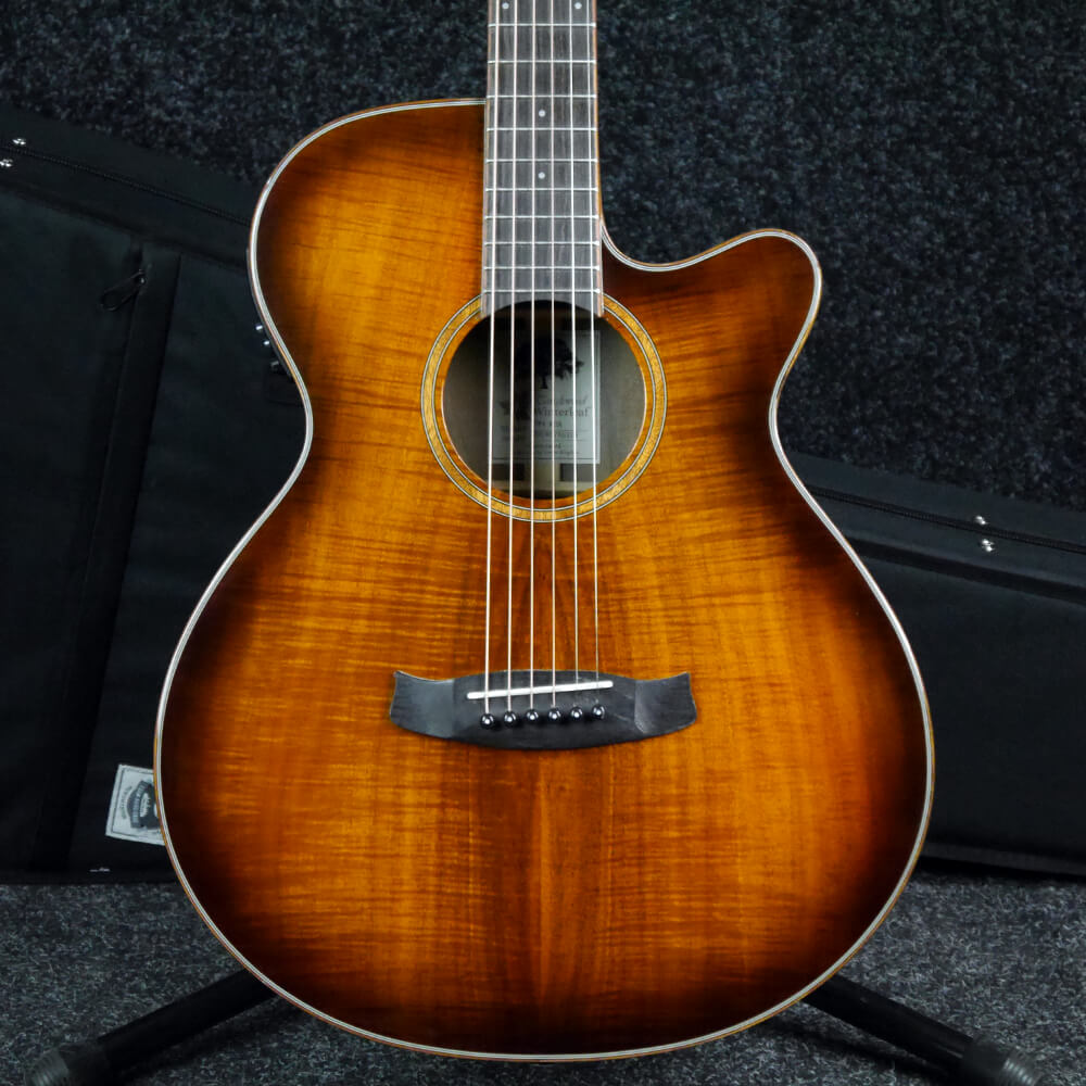 Tanglewood TW4 Winterleaf Electro-Acoustic Guitar - Aged Burst w/Case - 2nd Hand