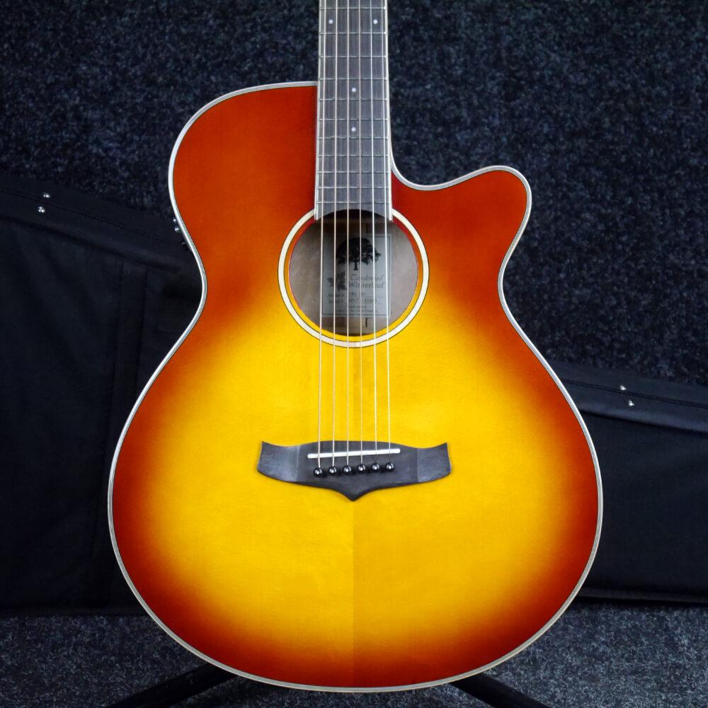 Tanglewood TW4 E SB Winterleaf Electro-Acoustic - Sunburst w/Case - 2nd Hand