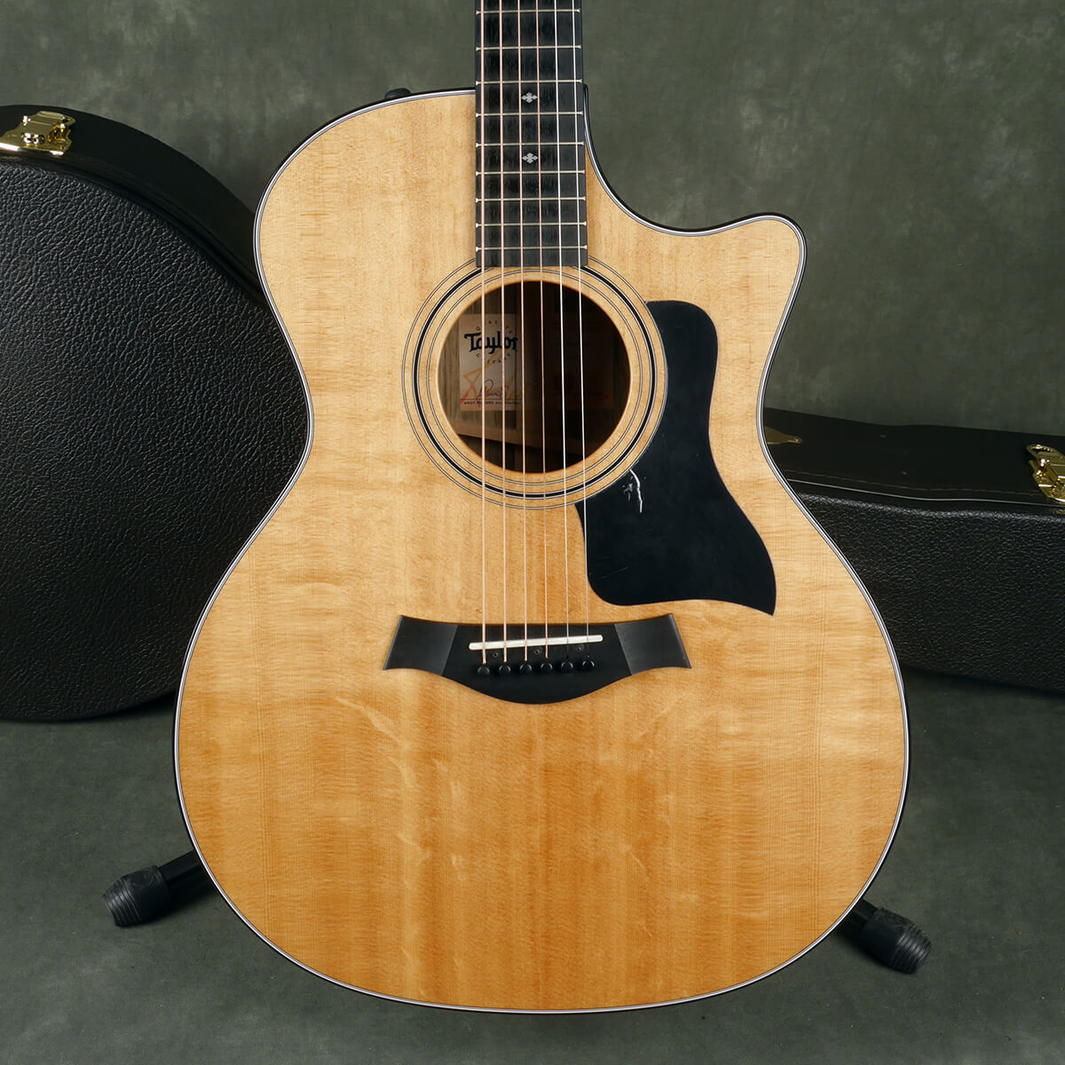 Taylor 414ce Limited Edition  Guitar - Natural  - Black limba - Case - 2nd Hand