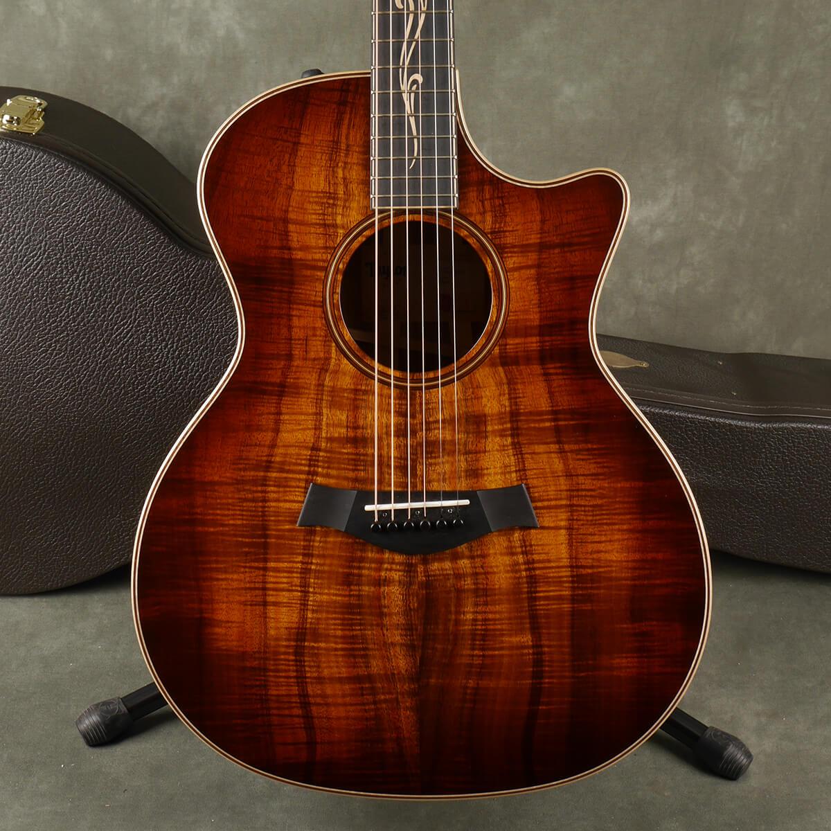 Taylor K24ce V-Class - Koa w/Hard Case - 2nd Hand