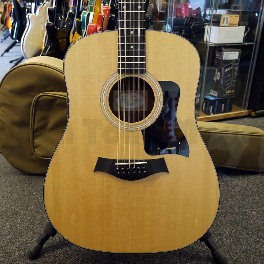 taylor 150e 12 string electro acoustic w gig bag 2nd hand rich tone music. Black Bedroom Furniture Sets. Home Design Ideas