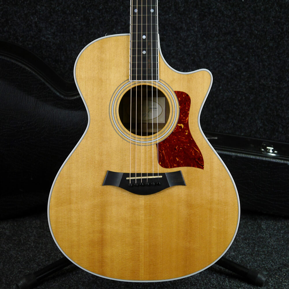 Taylor 412ce Electro-Acoustic - Natural w/Hard Case - 2nd Hand