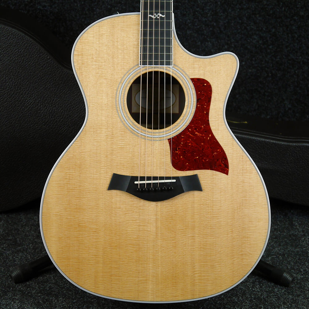 Taylor 414CE Rosewood Electro Acoustic Guitar - Natural w/Hard Case - 2nd Hand