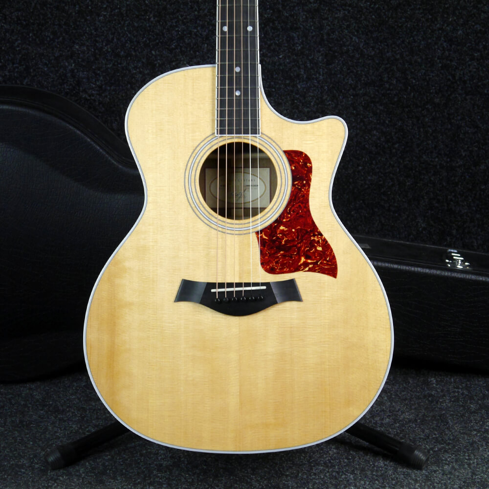 Taylor 414CE Electro Acoustic Guitar - Natural w/Hard Case - 2nd Hand