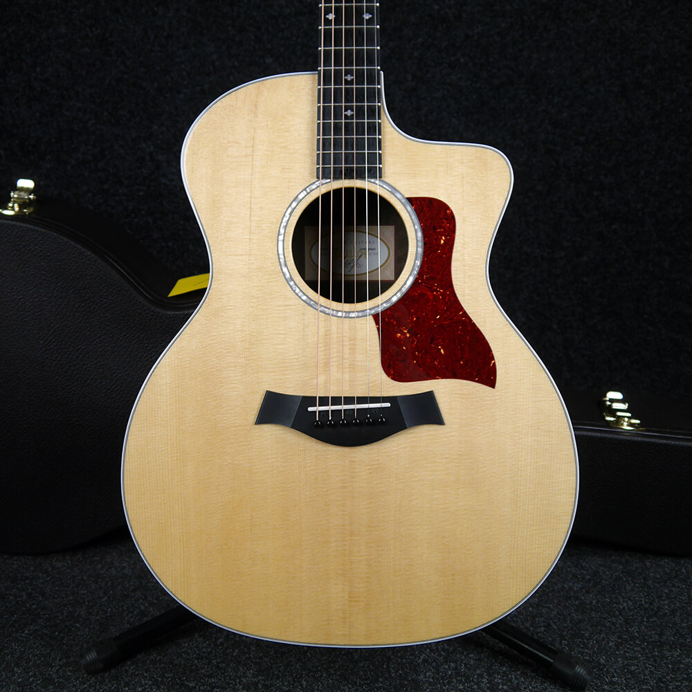 Taylor 214ce CF DLX - Natural w/Hard Case - 2nd Hand