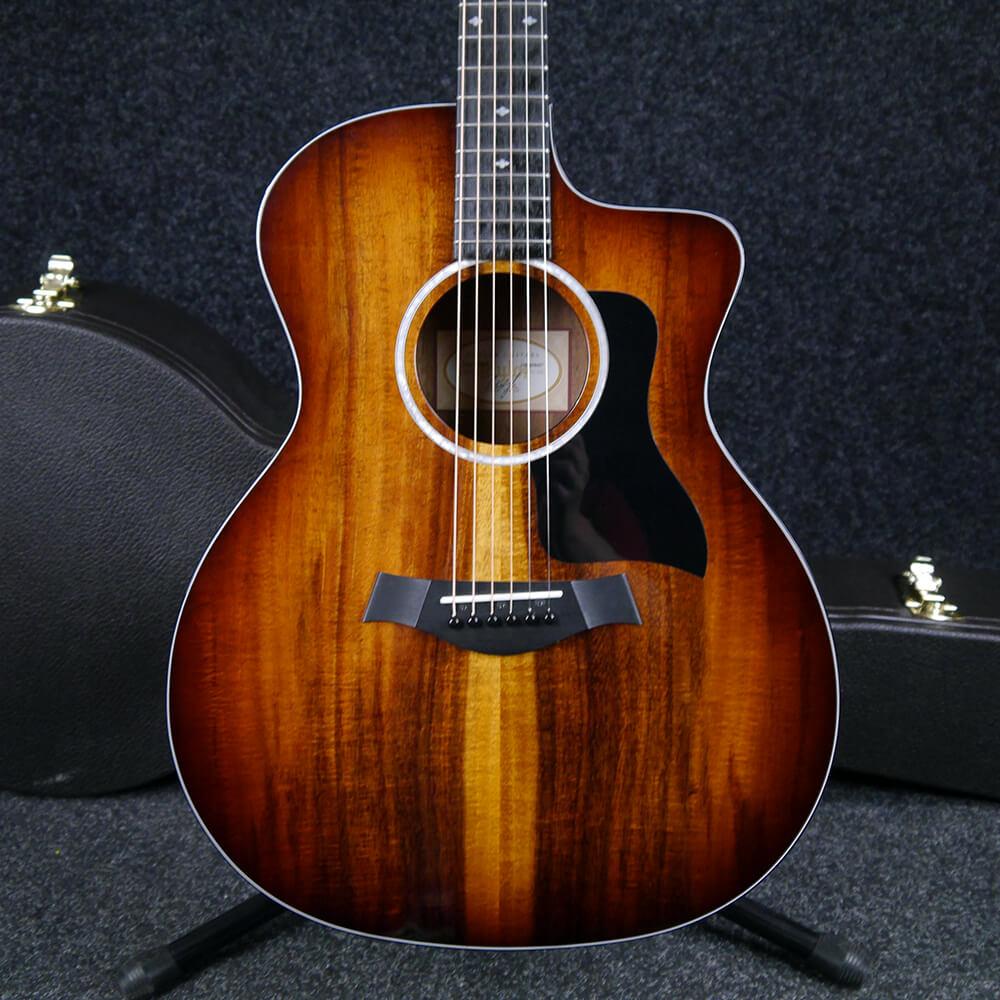 Taylor 224ce-K DLX - Natural w/Hard Case - 2nd Hand