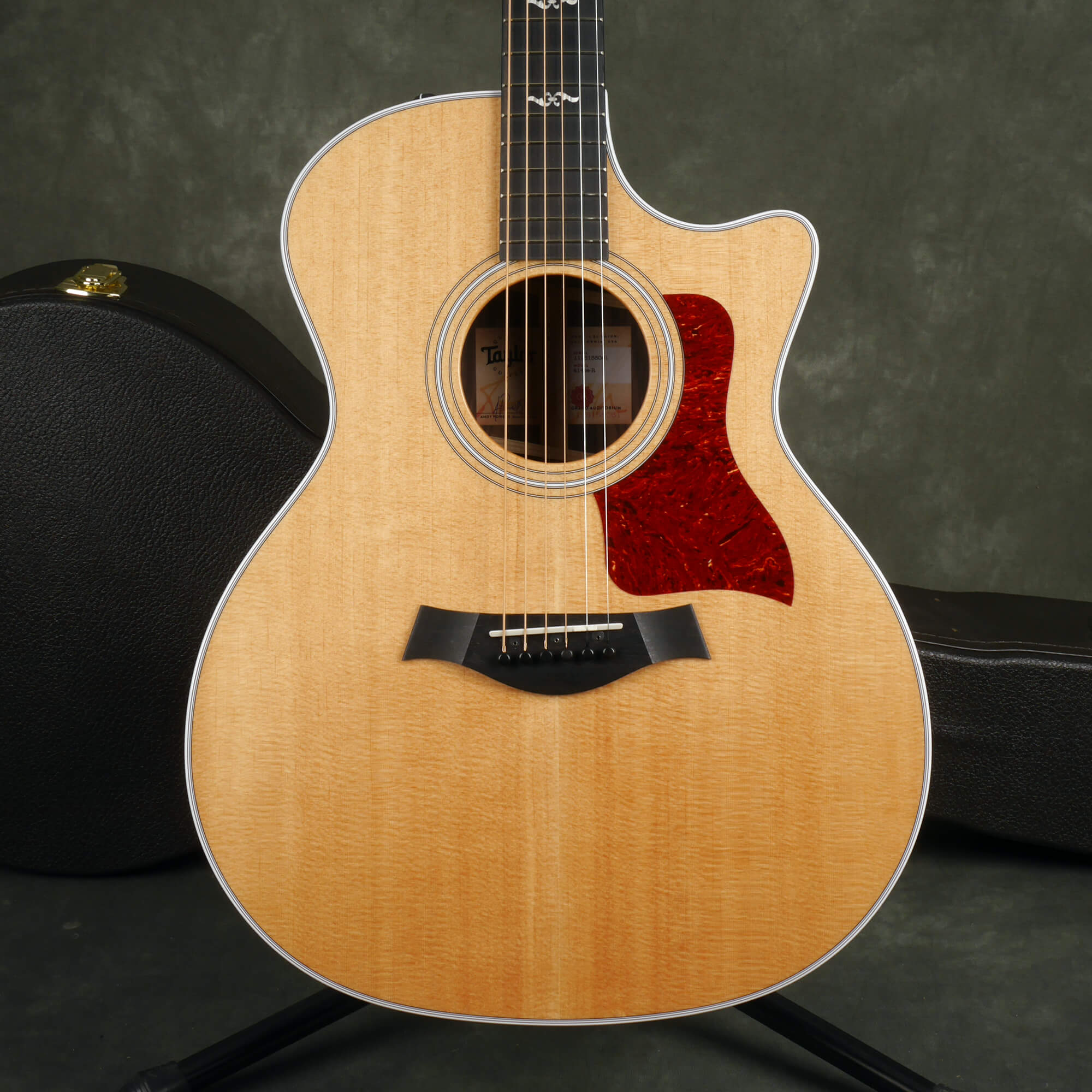 Taylor 414CE-R V-Class Acoustic Guitar - Natural w/Hard Case - 2nd Hand