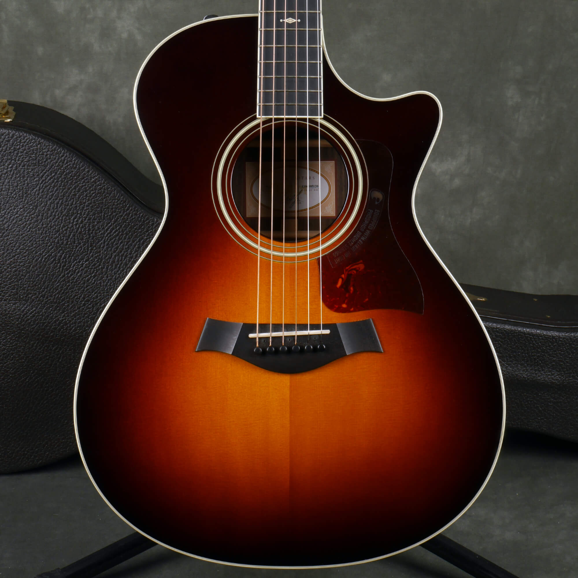 Taylor 712ce ES2 Electro-Acoustic Guitar - Sunburst w/Hard Case - 2nd Hand