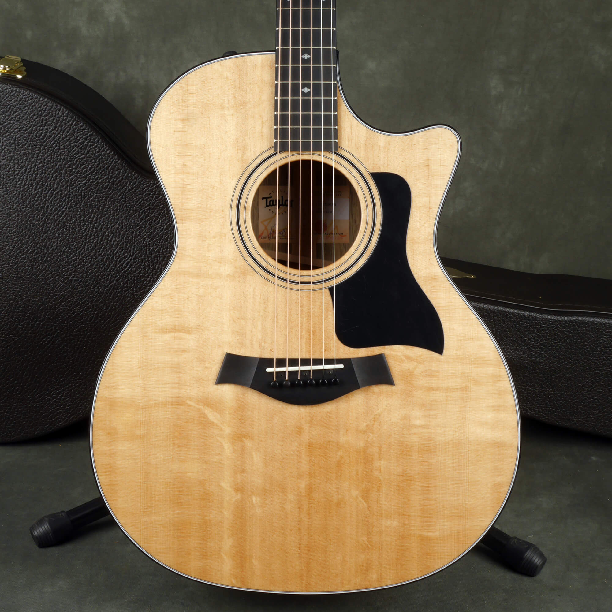 Taylor 414ce-LTD Electro-Acoustic Guitar - Natural w/Hard Case - 2nd Hand
