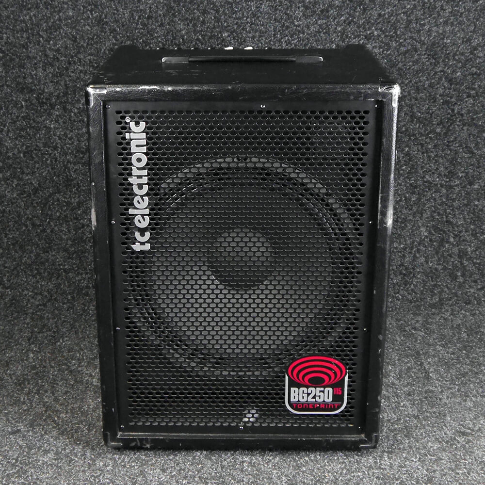 tc electronic bg250 115 bass combo amp 2nd hand rich tone music. Black Bedroom Furniture Sets. Home Design Ideas