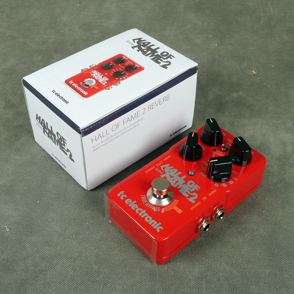 TC Electronic Hall of Fame 2 Reverb FX Pedal w/Box - 2nd Hand