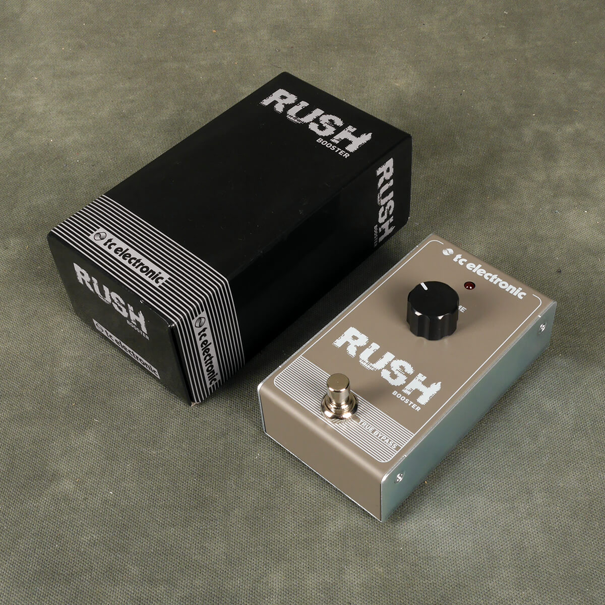 TC Electronics Rush Booster FX Pedal w/Box - 2nd Hand