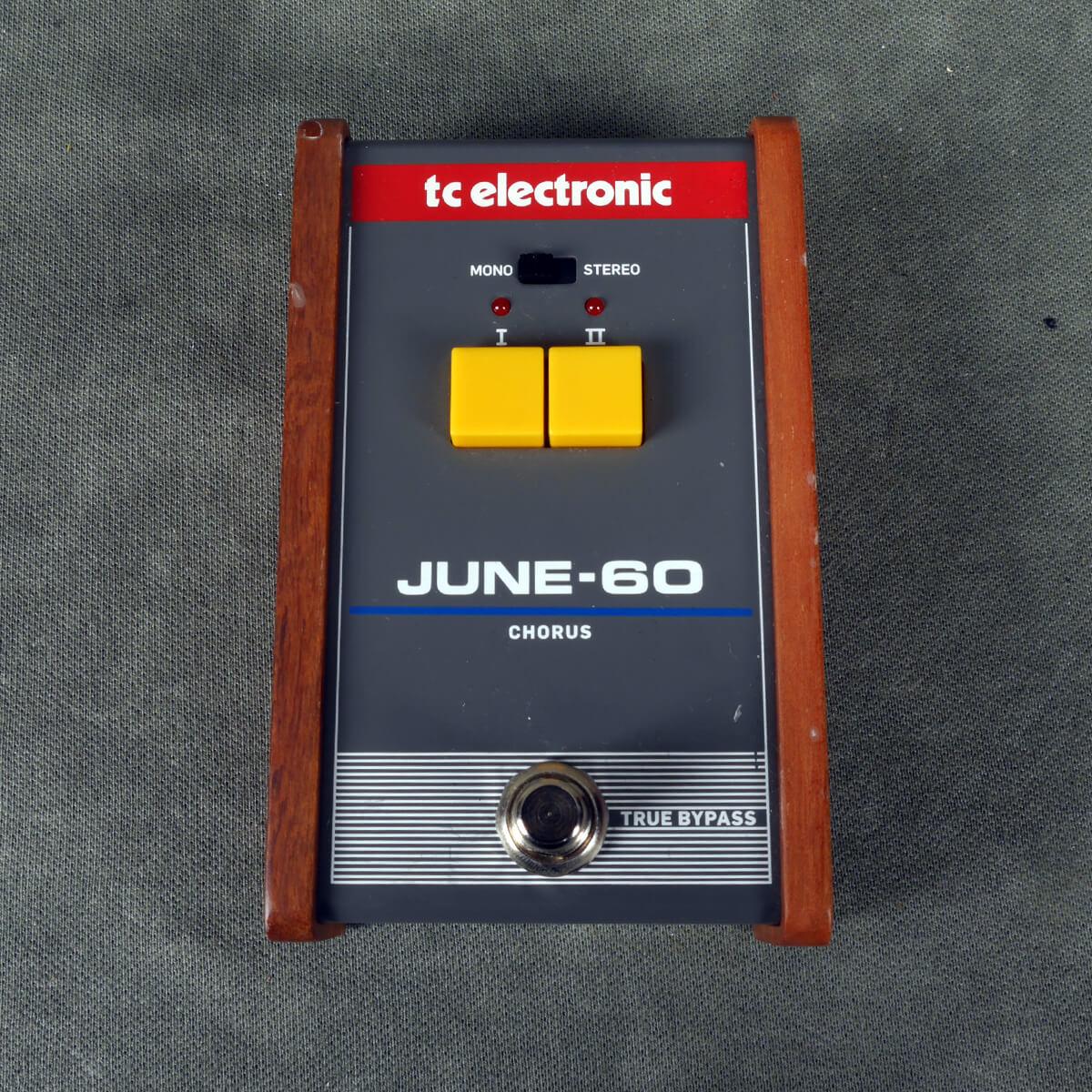 TC Electronics June-60 Chorus FX Pedal - 2nd Hand
