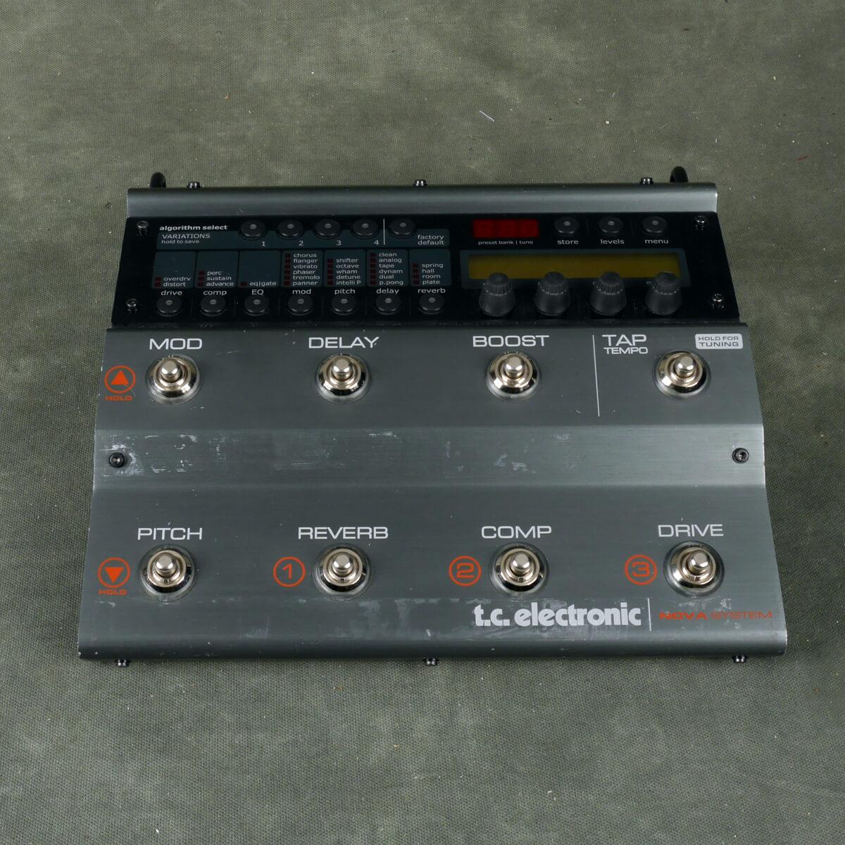 TC Electronics Nova System FX Floorboard - 2nd Hand