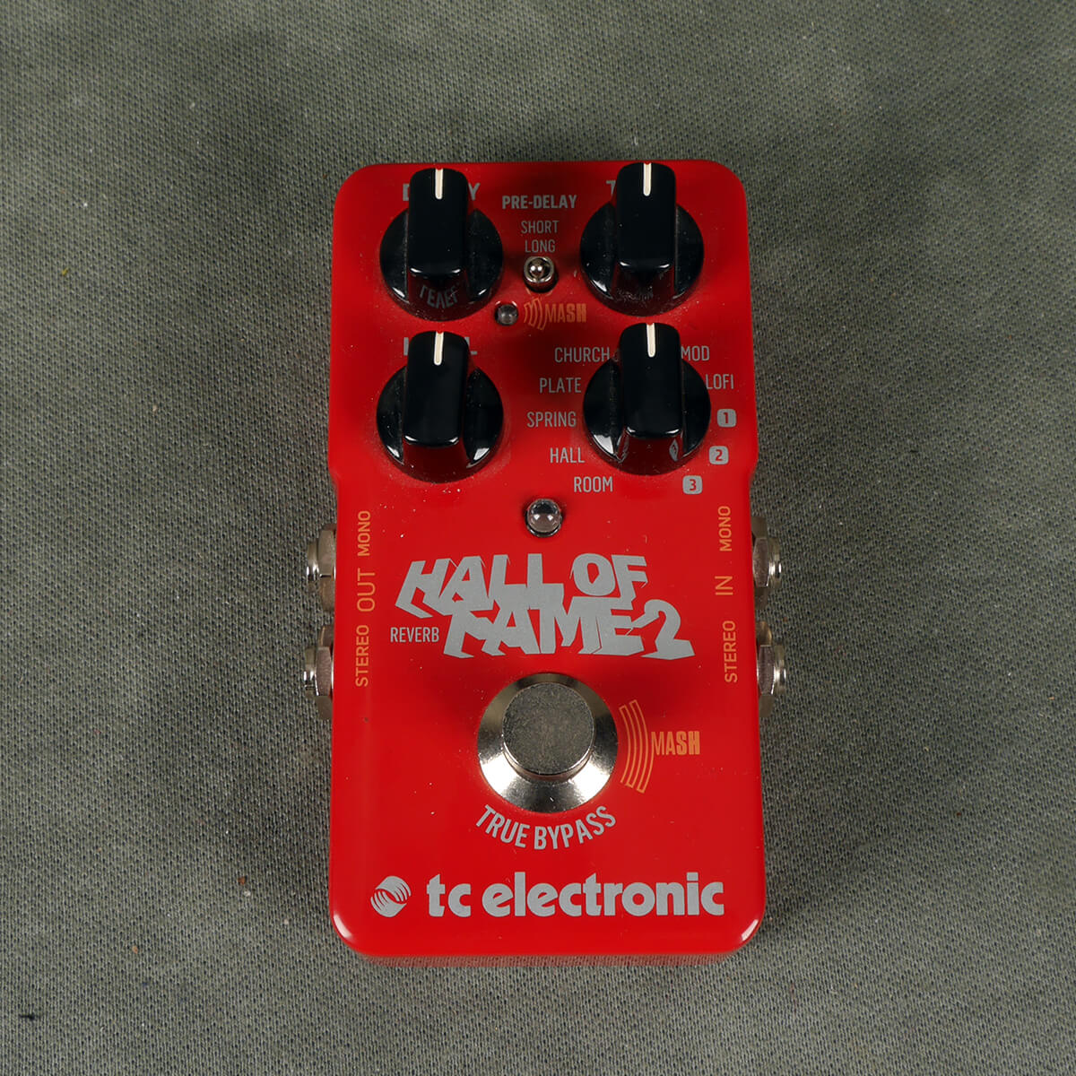 TC Hall of Fame 2 Reverb FX Pedal - 2nd Hand