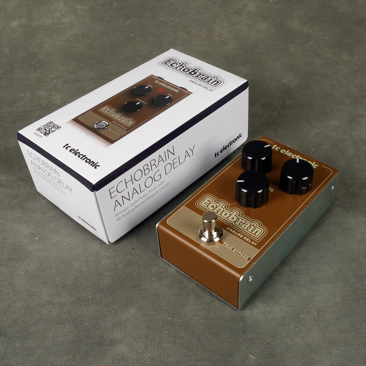 TC Electronic EchoBrain Analogue Delay FX Pedal w/Box - 2nd Hand