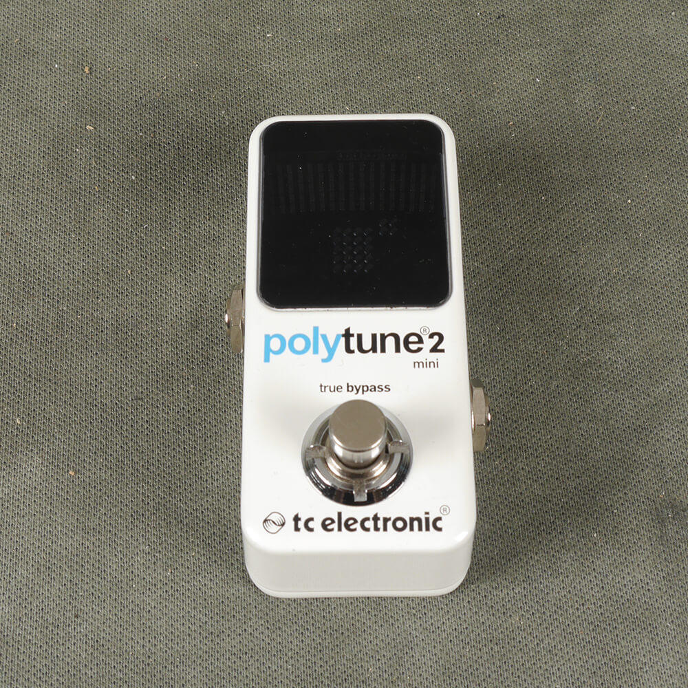 TC Electronic Polytune 2 Mini Tuner Pedal - 2nd Hand