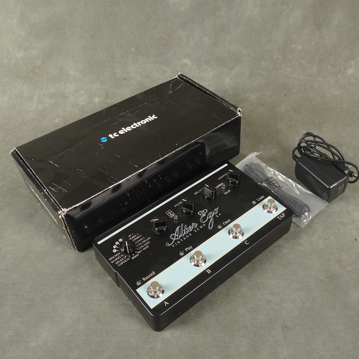 TC Electronic Alter Ego X4 Looper FX Pedal w/Box & PSU - 2nd Hand