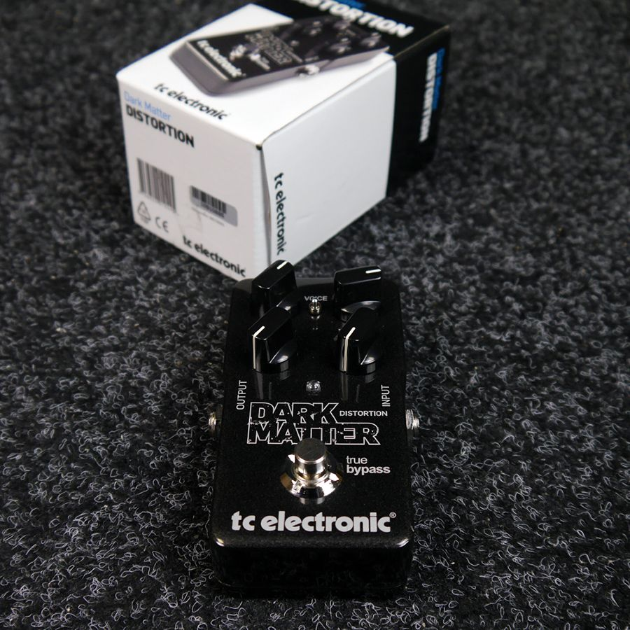 tc electronic dark matter distortion fx pedal w box 2nd hand rich tone music. Black Bedroom Furniture Sets. Home Design Ideas