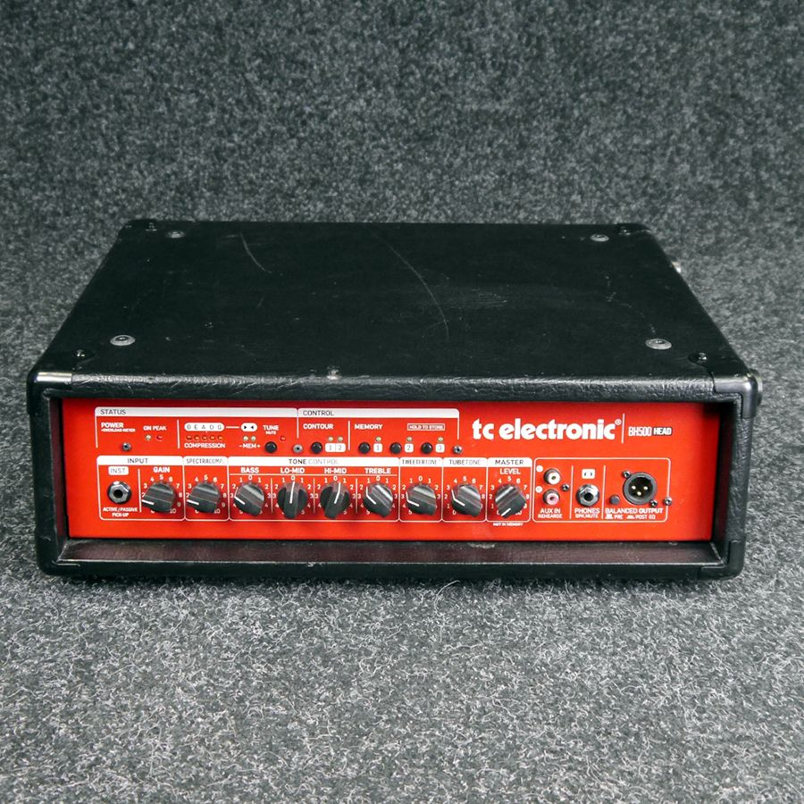 TC Electronic BH500 Bass Amp Head - 2nd Hand
