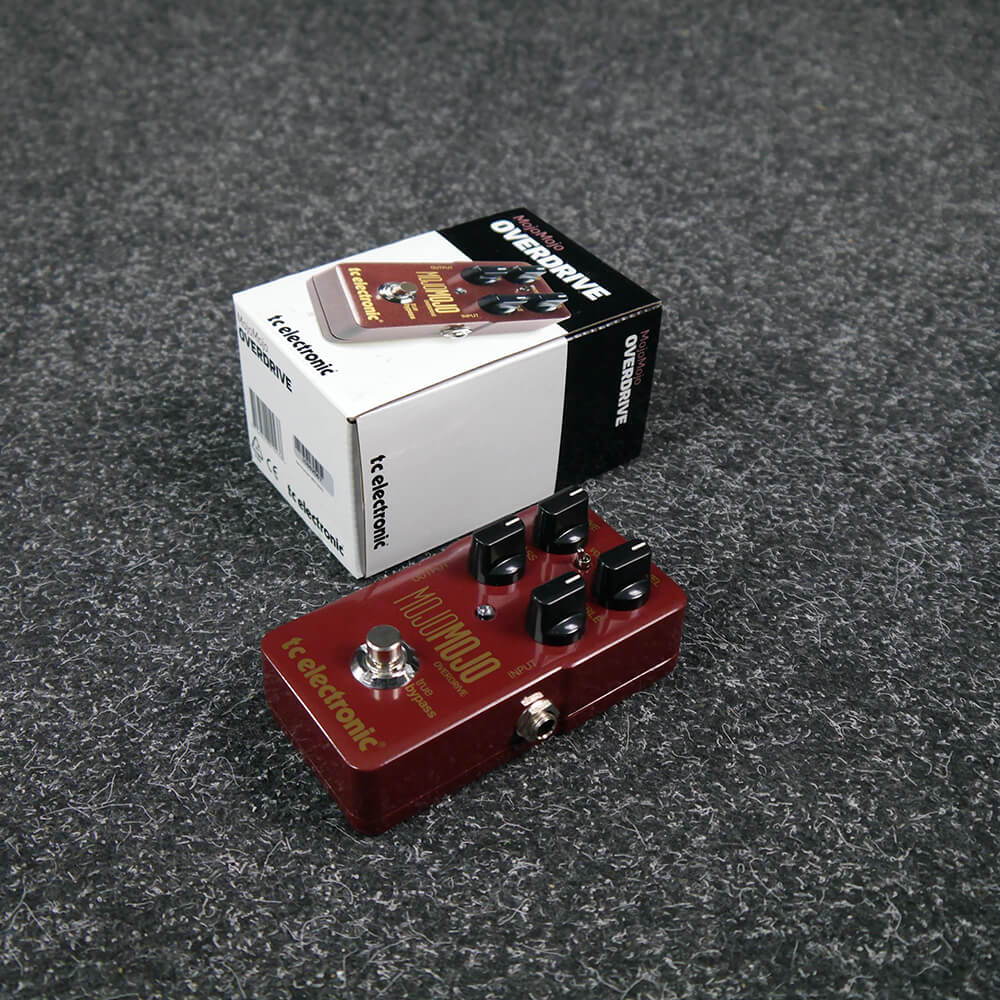 TC Electronic MojoMojo Overdrive Guitar FX Pedal w/Box - 2nd Hand