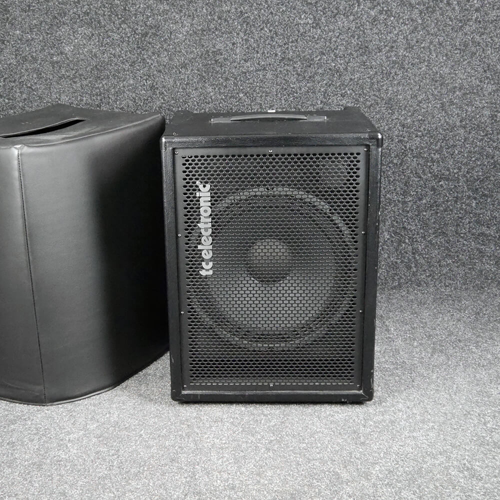 TC Electronic BG250-115 Bass Combo Amp w/Cover - 2nd Hand