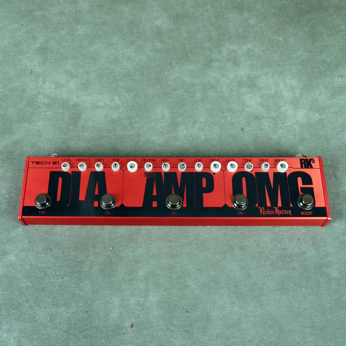 Tech 21 Sansamp RK-5 Flyrig Richie Kotzen FX Pedal - 2nd Hand